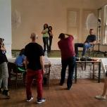 Уоркшоп с курсисти, фотография: Орлин Георгиев