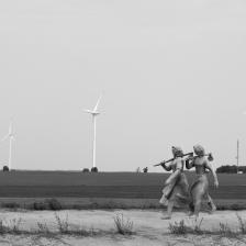 Скулптура и пространство на Владимир Спасов, Милена Иванова и Николай Пандърски